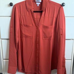 Express slim Portofino blouse - size M